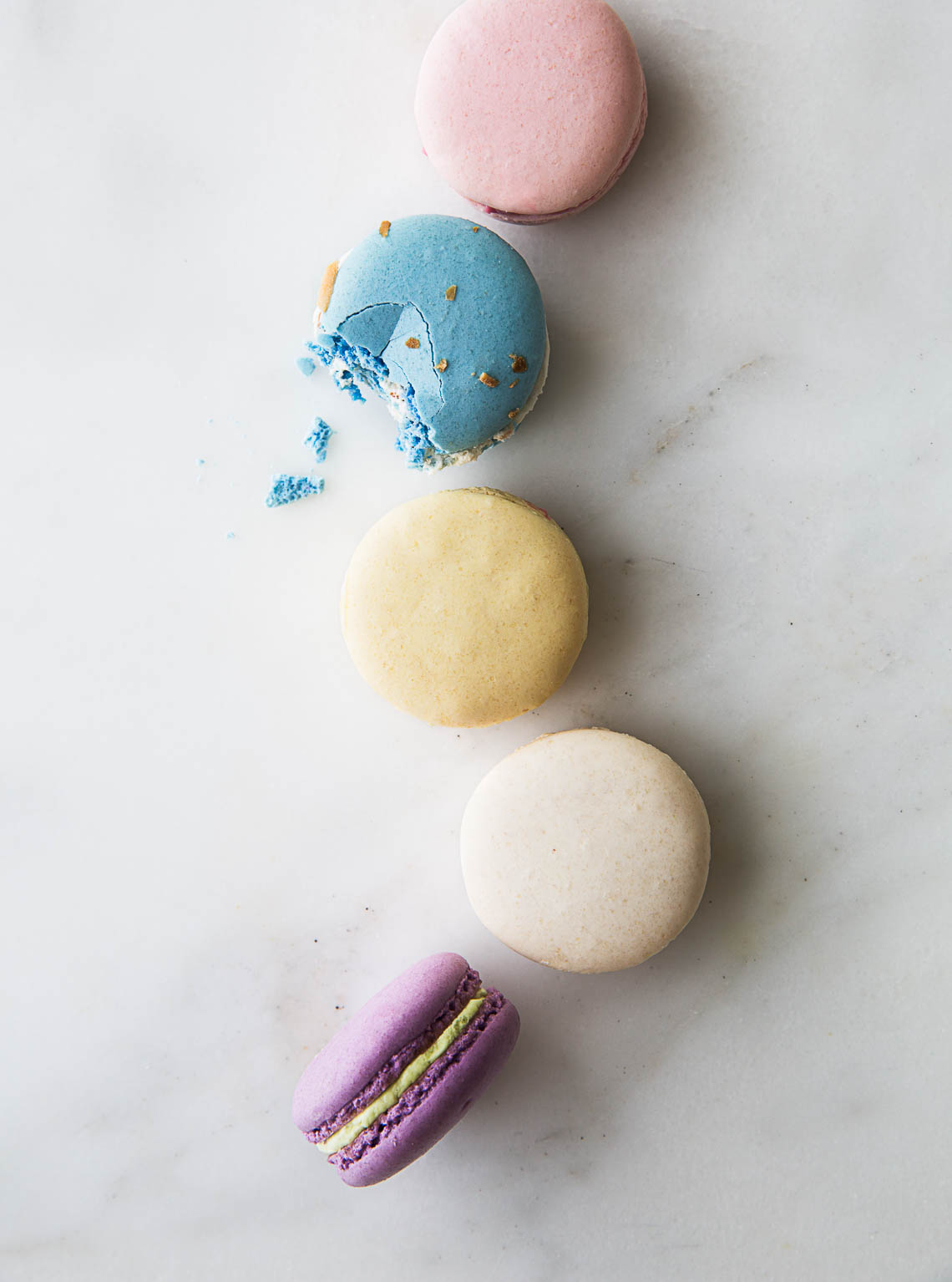 Easter macarons in New York