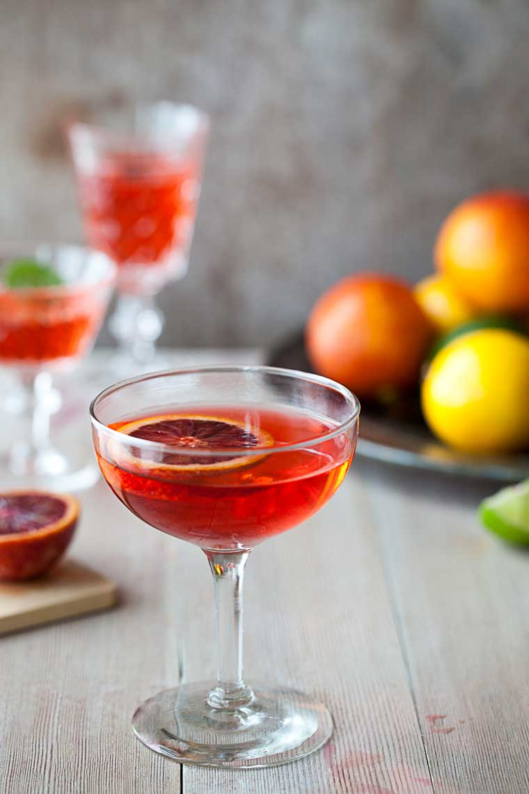 Blood Orange citrus Cocktails