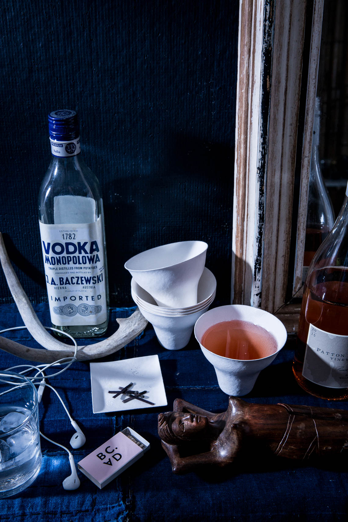 Monopolowa Vodka Still Life