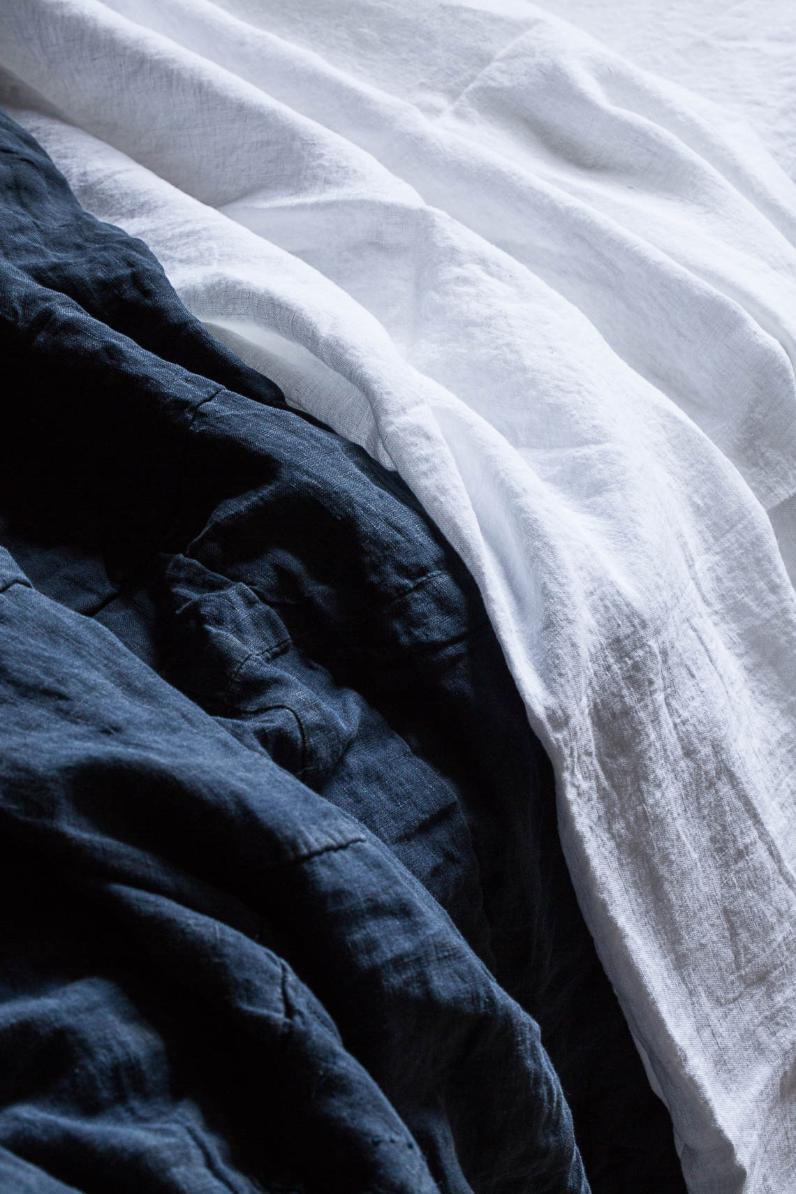 Stone linen Bedsheets
