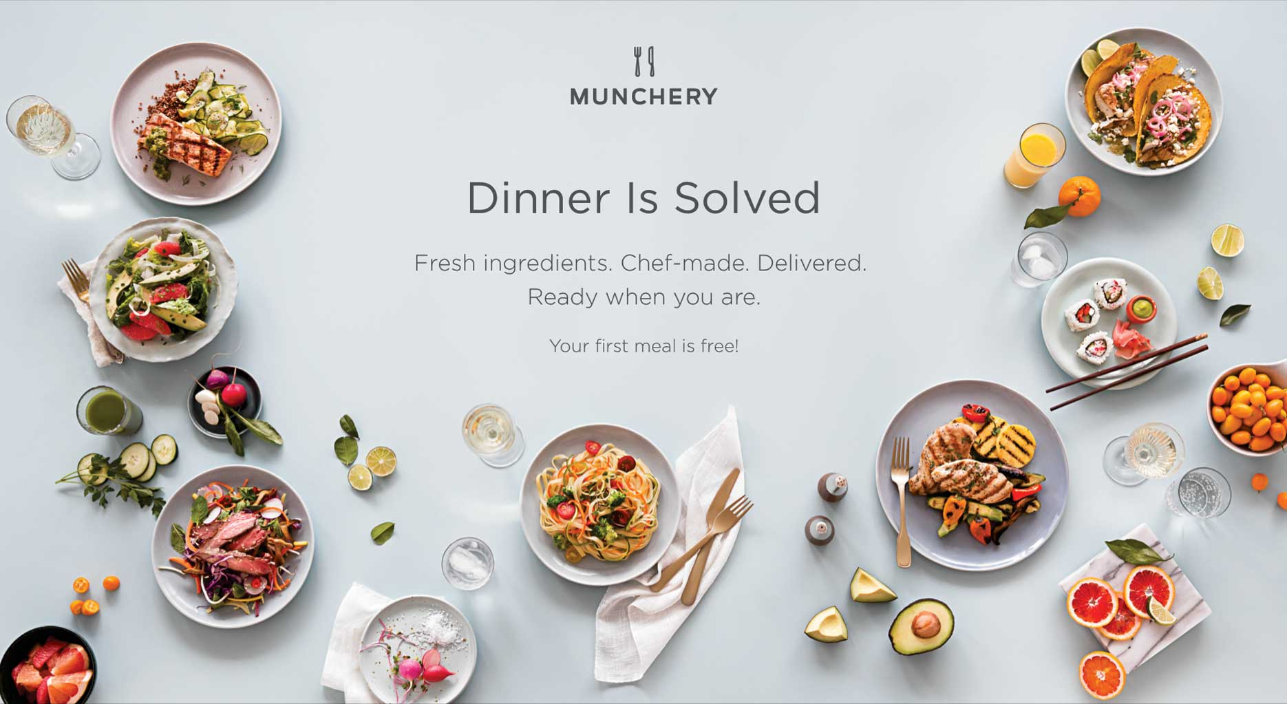 Munchery / Seattle Food Photographer