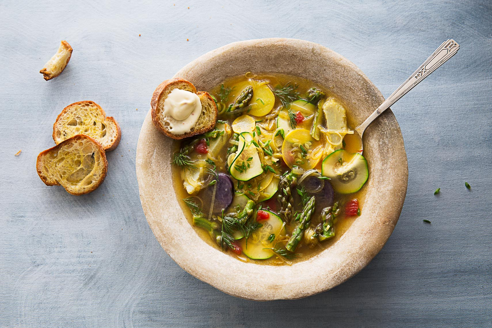 Roasted Veggie Soup for all seasons